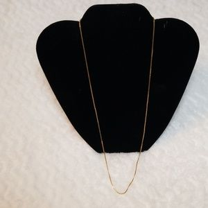 24 inch Ven Box 14k gold chain
